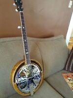 Resophonic 5-String Banjo for Sale