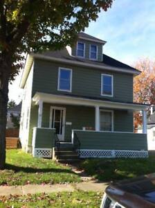 Large 4 bedroom older home with small Garage downtown Moncton