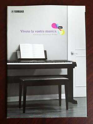 Catalogo YAMAHA PIANOFORTE DIGITALE 2017 dépliant brochure P-255 P-115 YDP DGX comprar usado  Enviando para Brazil
