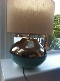 Table lamps matching in excellent condition for sale. £50 secures