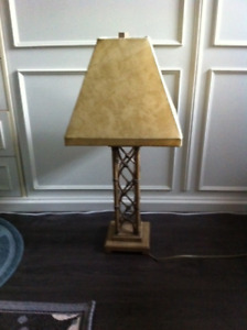 perfect condition table lamp