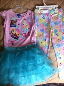 Disney Frozen Elsa - size 6 , shoes size 13