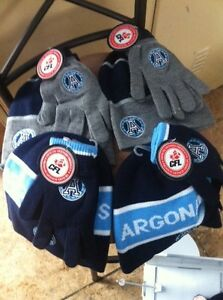 CFL Hats-Mitts-Socks & Itouch Gloves
