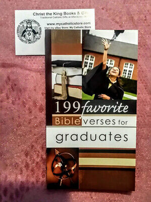 Graduation Bible Verses (199 FAVORITE BIBLE VERSES FOR GRADUATES BY CHRISTIAN ART GIFTS-BRAND NEW)