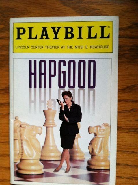 Hapgood Color Playbill  Stockard Channing Brian F. O'Byrne David Strathairn 1994