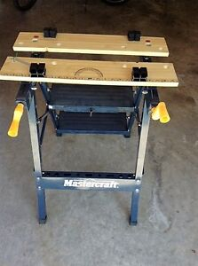 Two folding workbenches for sale