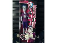 Monster High Doll - Sloman 'Slo Mo' Mortavitch - BNIB -£10