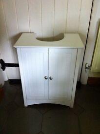 Under Sink Storage Unit-White