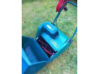 Garden lawnmore puch self drive cylinder electric