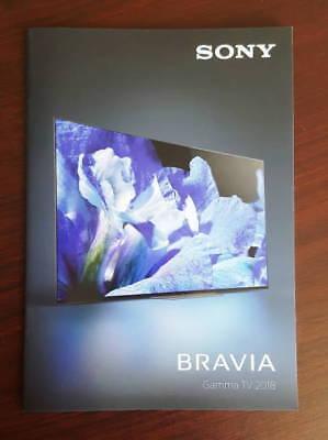 Catalogo SONY BRAVIA TV 2018 dépliant brochure lcd full hd ready home cinema Sony Bravia Hd Ready Tv