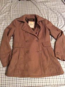 S/M camel colour Pull&Bear coat