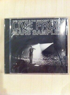 BEN HARPER & The Innocent Criminals  LIVE FROM MARS SAMPLER CD NEW
