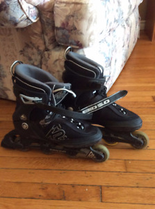 MENS/BOYS K2 EXO ROLLERBLADES - 50$ - great condition - clean