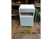 Shabby chic upcycled bedside cabinet