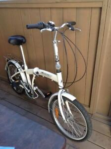 Bicycle pliable a vendre