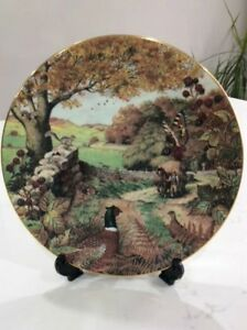 Fall Collector Plate, Bone China
