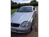 mercedes SLK 2002 full serves history low mileage auto