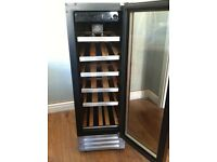 Wine cooler. 18 bottle capacity