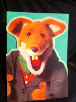 BN Basil Brush fox cut out standing Card