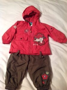 Girls Coat & Pants