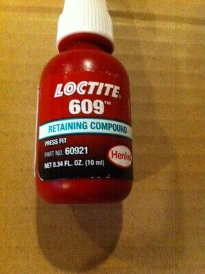 60921 Loctite Retaining Compound. 4-10 Oz. Bottles Of 60921