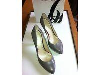 Never Worn, Nine West grey high heels, size 41