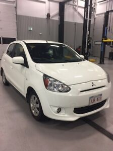 2014 Mitsubishi Mirage SE with Winter Tires