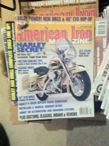 AMERICAN IRON MOTORCYCLE MAGAZINES