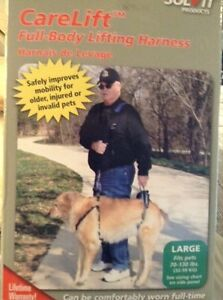 Carelift Large Full Body Lifting Harness for Dogs 70-130 lbs