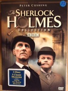 SHERLOCK HOLMES. PETER CUSHING. BBC. 2DVD. ++RARE++ ANGLAIS ONLY