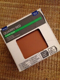 Wickes 150mm x 150mm Quarry Red Floor Tiles - 8 No boxes