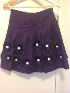 Alannah Hill Plum Skirt