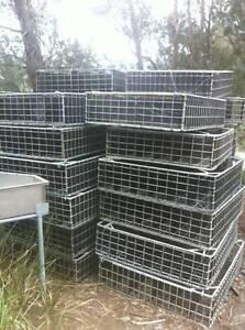 Galvanised Crates and Fibreglass bins price for each Snug Kingborough Area Preview