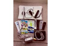 Wii Bundle including cables and controllers
