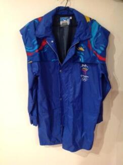 SYDNEY 2000 OLYMPIC VOLUNTEER JACKET PLUS MEMORABILIA