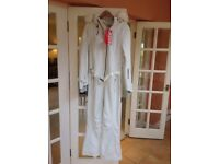 Brand New With Tags Sweaty Betty Ski Snowboard All in One Suit - Features ++ - White - Large (UK 14)