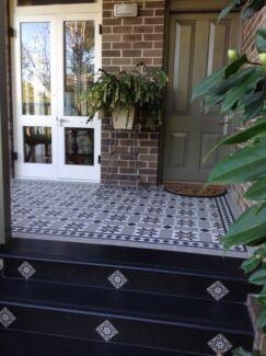 Federation Tiles Sydney Tesated Victorian