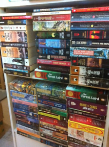 SCI-FI  FANTASY books for sale - only $1 each - great selection.