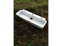 Ceramic sink - ideal for garden planting £10