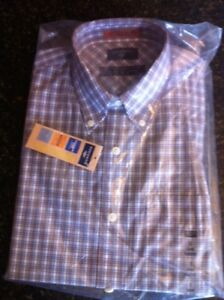 DOCKERS Men's ProStyle Long Sleeve Shirt BNWT Sizes M, L, XL
