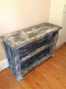 Brand New Rustic Console table