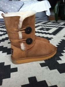 Size 6 UGG button boots - NEW