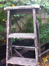 Rustic wooden ladder Bayswater Bayswater Area Preview