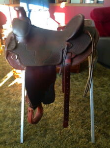 New handmade Roping Saddle