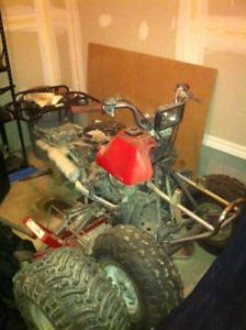 Honda TRX 125 project bike