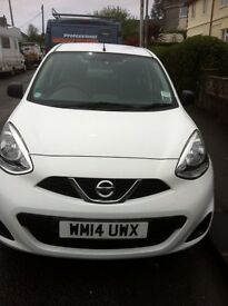Nissan micra long MOT and under warranty until 2018 no offers!