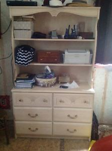 White Oak Bedroom Set