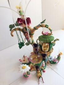 Tinkerbell Pixie Hollow Disney Fairies Playset