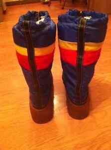 Vintage 1970's Snowmaster Rainbow Winter boots Cornwall Ontario image 1