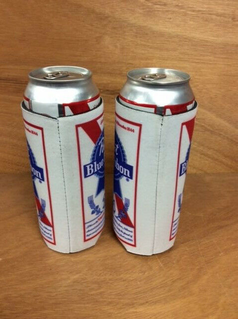 Tall Can Cooler ~ Pbr pabst blue ribbon beer koozie oz tall can cooler